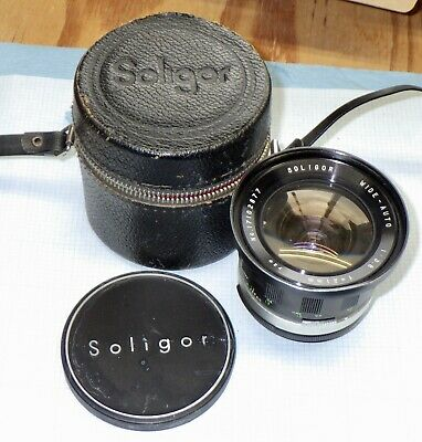 Soligor Wide-Auto 1:3.8 f=21mm 72Ø Pentax M42 Screw Mount + Case & Lens Cap