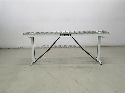 "Portable Roller HTC Conveyor 14.75"" x 65.75"" x 26"" High ( Used and Tested )"