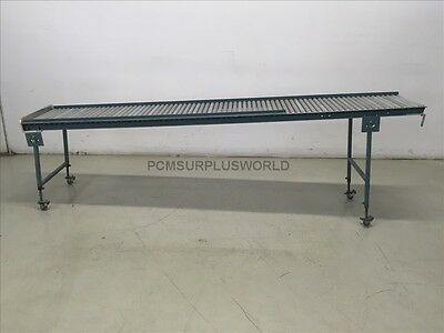 "Roller Conveyor 18.75"" x 108"" x 34.25"" High ( Used and Tested )"