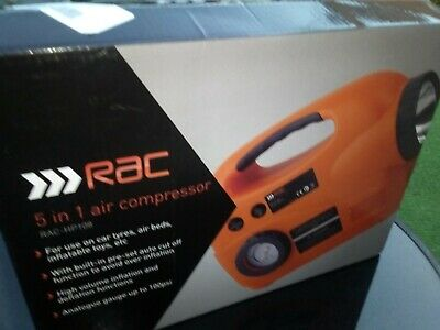 RAC 5 in 1 Air Compressor HP 108