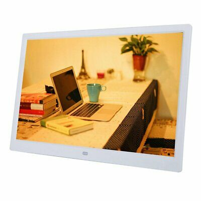 HD Digital Photo Frame 17 Inches Front Touch Buttons Multi-language LED Screen F