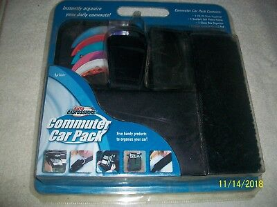 Auto Expression Commuter Car Pack 5 pc Organizer Factory Sealed Lot # 2 Last One