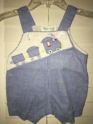 Tiny Tots Original Baby Boy Shortalls, Size Newborn