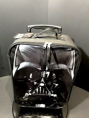 "Star Wars  Darth Vader 18"" Softside Kids Luggage Suitcase Upright"