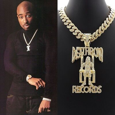 Image result for 2pac death row chain