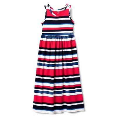 91caf503cd0 GIRLS - GYMBOREE - Red White   Blue America Patriotic Striped Dress ...
