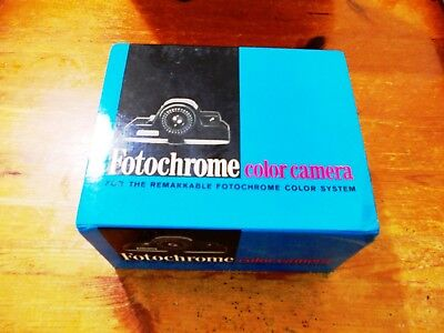 Fotochrome instant camera collectible new old stock