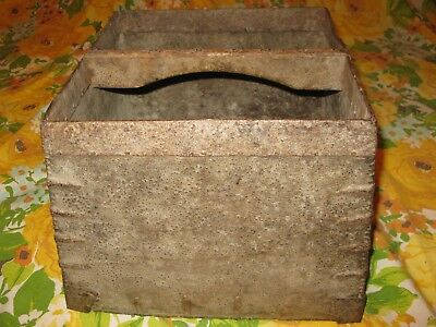 Antique Asian Chinese Rice Harvest Bucket Basket Please Read