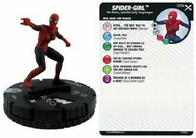 Marvel Heroclix Earth X Common Spider-Girl 001A Young Avengers New Warriors