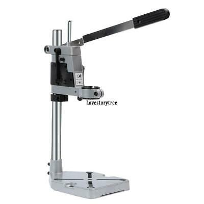 Durable Drilling Base Bench Drill Press Stand Aluminum Drill Holder Stand