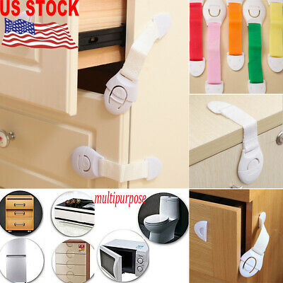 Baby Child Cupboard Cabinet PP Safety Locks Pet Proofing Door Drawer Fridge Kid