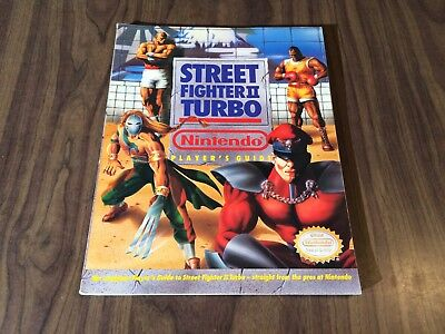 Super Street Fighter II: Turbo (Super Nintendo, SNES) Strategy / Player's Guide