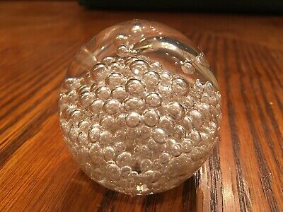 Prestige Glass Hand Blown Glass Small Paperweight