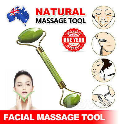 OZ Facial Massage Natural Jade Roller Slim Face Body Beauty Healthy Massage Tool