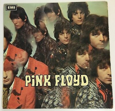"Pink Floyd Piper At The Gates Of Dawn  1st UK Mono 1967  RARE no ""FILE UNDER"""