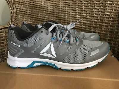 604979129b12 NEW WOMENS REEBOK AHARY RUNNER Coal Gray Pink Athletic Running ...
