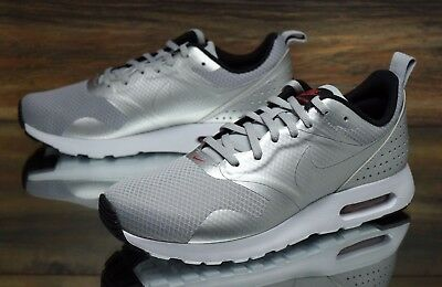6ce19b055d New Nike Women'S Air Max Tavas Athletic Running Shoes Sneakers Silver Sz/  7.5