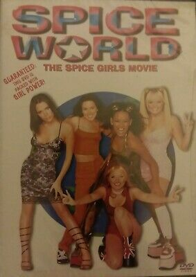 Spice World (DVD 1998 Closed Caption) RARE MUSIC COMEDY SEALED free shipping
