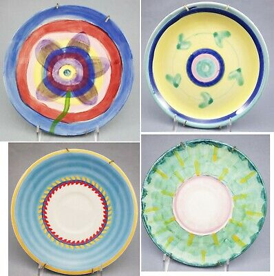 Set 9 Plates Certified International Italy Portugal Flowers Rose Garden Florals