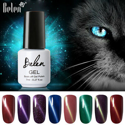 Belen Fixed-Line 3D Cat Eye Gel Polish Magnetic Magnetic Stick Top Base Coat