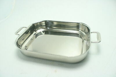 All-Clad 00830 Versatile Polished Stainless Steel Lasagna Pan Cookware Silver