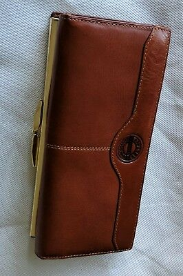 Annapelle GENUINE Leather Vintage clutch Wallet BRAND NEW 📸 MANY PICS