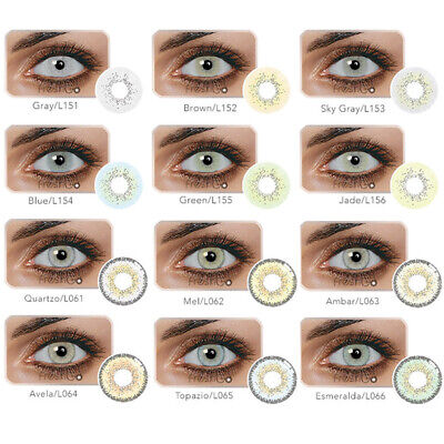 Attractive Womens Natural Eye Beauty Makeup Contact Lenses Comfortable Cosmetic