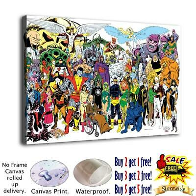Super heroes HD Canvas print Painting Home Decor Room Picture Wall art 125662