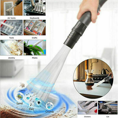 Dusty Brush Cleaner Dirt Remover Cleaning Tool Universal Vacuum Attachment UK