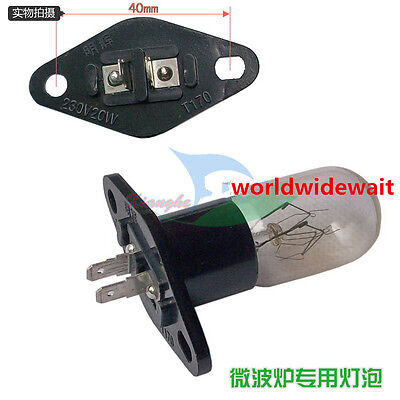 Microwave Oven Light Bulb Lamp 230V/20W Pin-out