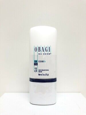 Obagi Nu-Derm CLEARFx 2 oz New Sealed 100% Authentic HYDROQUINOIN FREE