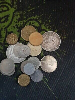 House Clearance Bundle Of Coins Job Lot #1 old vintage
