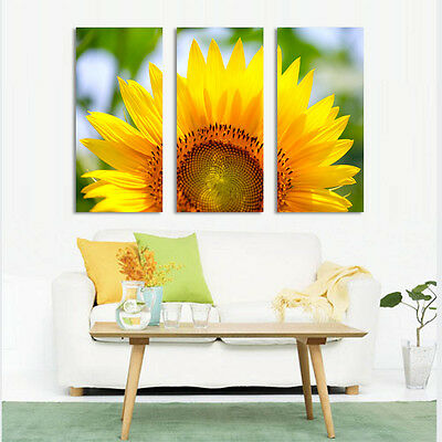 Modern Framed Canvas. Gallery Wrap 3 Panels Ready to hang.  Special  30% off.