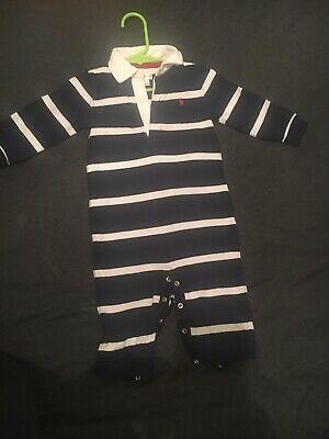 Baby Boy All In One Ralph Lauren Outfit 6-9 Months 💙
