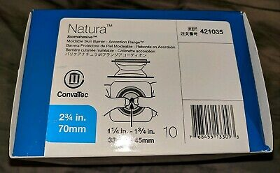 *NIB*ConvaTec Natura Stomahesive Skin Barrier, Ref#421035. Qty 10. Free Shipping
