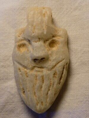 Mesopotamian Stone Pendent With Early Form Of Writing