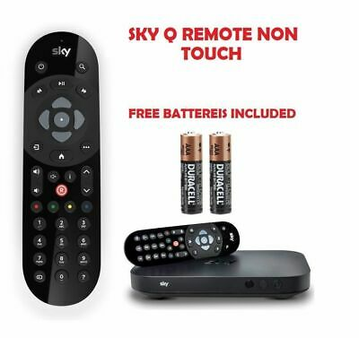 Genuine Sky Q Infrared Remote Tv, New Uk, + Free Batteries Included