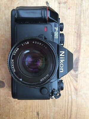 nikon f301 with Nikkor F1.8 50mm Lense And Original Box