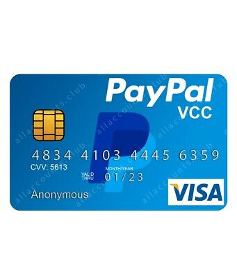 ✅ PayPal VCC Verify your PayPal account WORLDWIDE 🌎