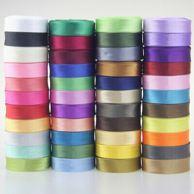 "Satin Bias Binding Tape 16mm Wide 5/8"" Double Folded Trimming/Edging/Quilting"