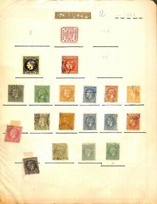 [OP8546] Romania lot of stamps on 12 pages - see photos on description