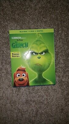 Dr Seuss' The Grinch (Blu-ray Disc, 2019) -  BLU RAY only-