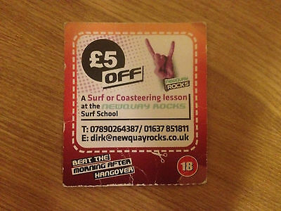 £5 Newquay Rocks Surf or Coasteering Lesson Voucher