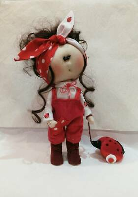 Hand made interior textile doll