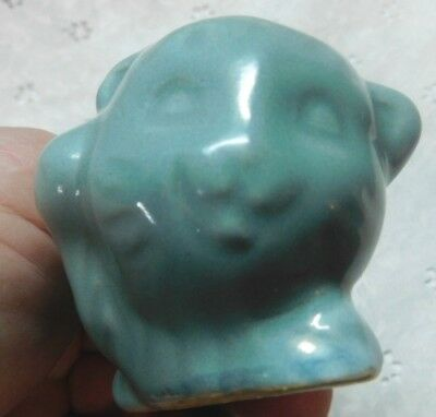 VAN BRIGGLE FIGURAL Pottery CAT Signed on bottom KITTEN
