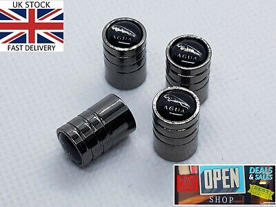 Jaguar Valve Dust Caps Best Quality Material New Style x4