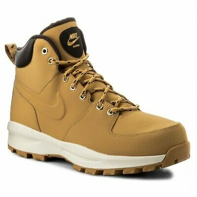 finest selection acc50 5dabb Chaussures Hommes Nike Manoa Leather Bottine Chausson 454350 700 Beige