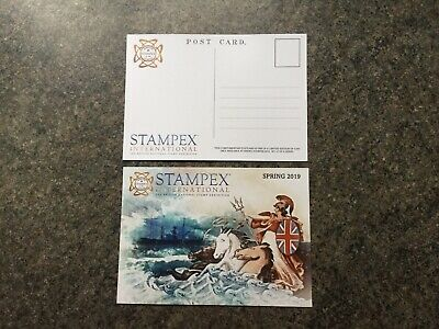 2019 Spring Stampex Complimentary Postcard