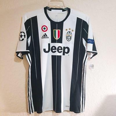 check out 608f7 f5ac6 NWT ADIDAS JUVENTUS Home 16/17 Player Issue Adizero Authentic #9 Higuain Sz  L