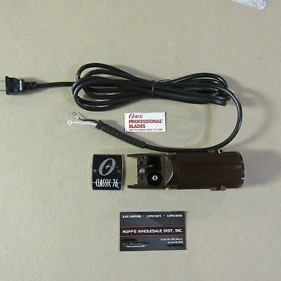 Oster Barber Cord Classic 76 Replacement parts cord, housing nameplate